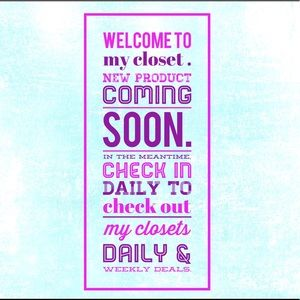 Other - Welcome to my closet 🥰